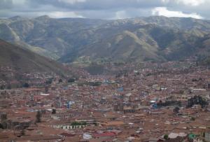 Cusco et les montagnes