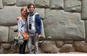 La pierre a 12 angles .. sont fous ces Incas !